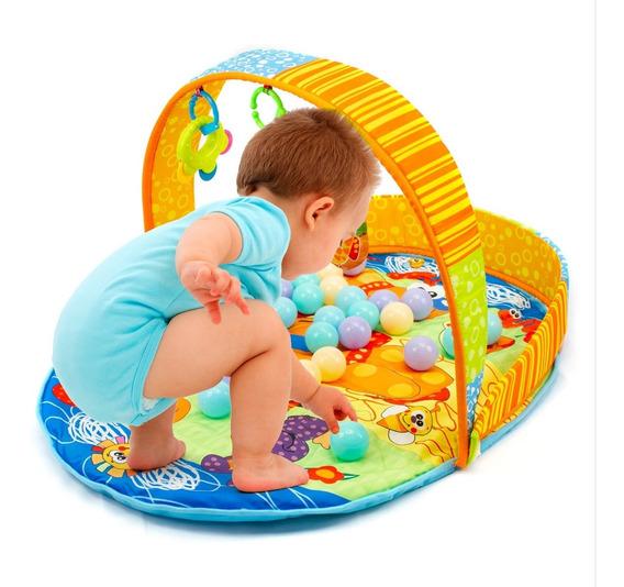 Tapete De Atividades Interativo 3 Em 1 Ginásio Festa Infantil