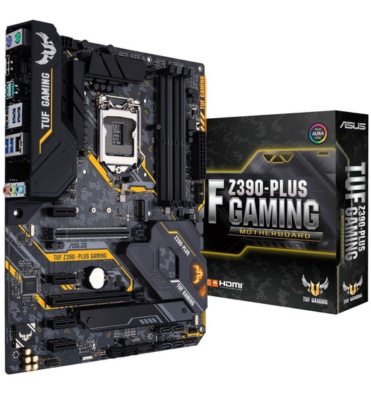Placa-mãe Asus P/ Intel 1151 Tuf Z390-plus Gaming 4xddr4 Atx
