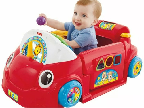 Carro Estacionario Juega Y Aprende Fisher Price. En 100 Vrds