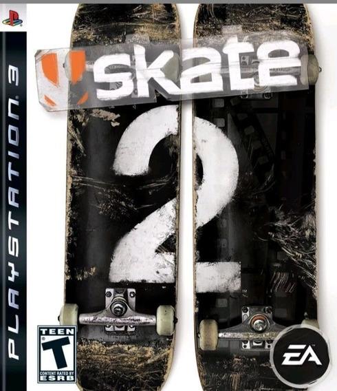 Jogo Skate 2 Playstation 3 Ps3 Original Frete Grátis Física