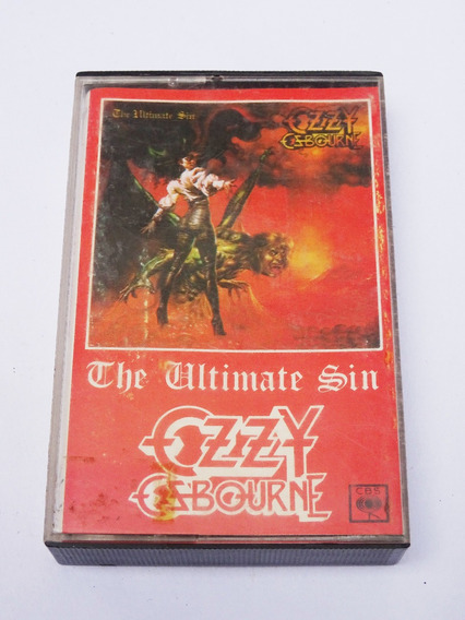 Ozzy Osbourne - The Ultimate Sin (1988) - Cassette