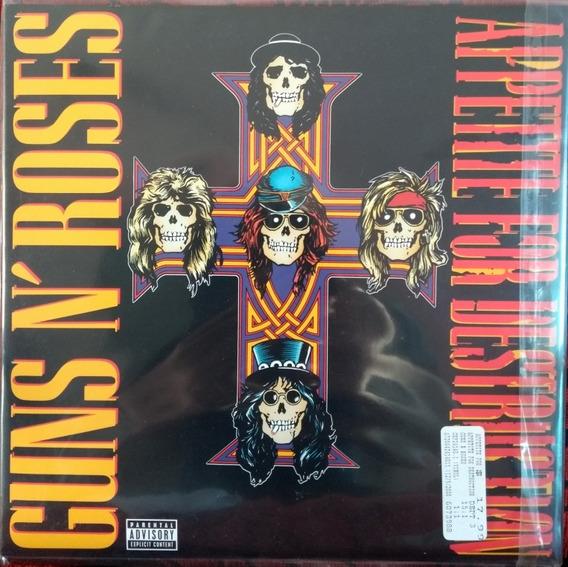 Lp Guns N Roses - Appetite For Destruction Novo Importado