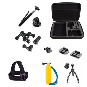 Kit Gopro Black Session Edition Plus Silver Fusion 360 Basic
