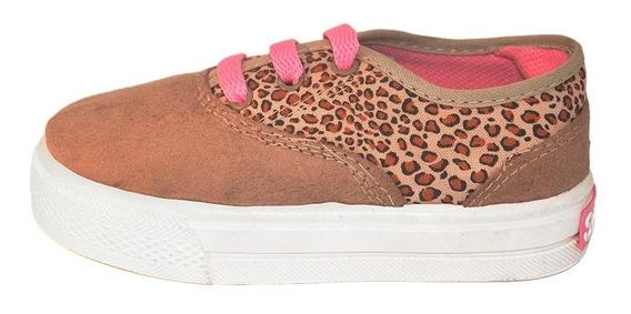 Zapatilla Sin Puntera Animal Print Small Shoes Envío Gratis