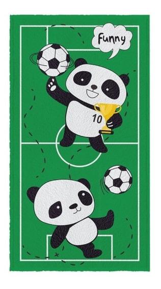 Toalha De Banho Infantil Nova Coleção Urso Panda Personagens