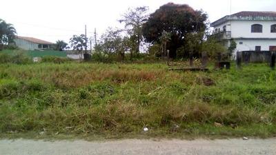 Terreno Com 262 M² Em Itanhaém, Lado Praia - 3347/p