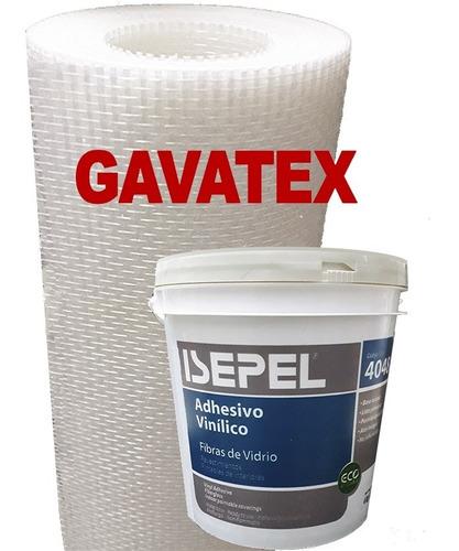 Imagen 1 de 10 de Humedad En Paredes Revestimiento Gavatex A5 25m+adhesivo 4k