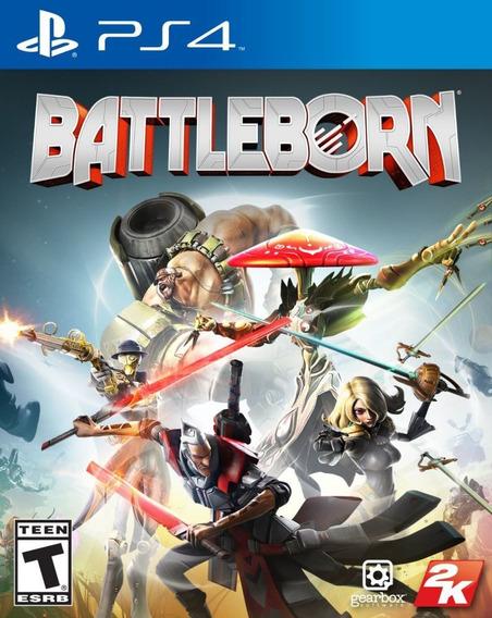 Battleborn Ps4 Mídia Física Lacrado Leg Pt Br