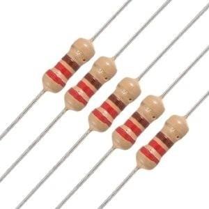 Resistores 220 Ohms - 100 Peças