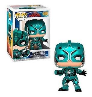 Funko Pop - Captain Marvel - Yon Rogg #429 - Nuevo
