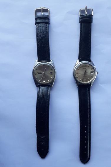 Dois Lindos, Relógios Seiko Automáticos, Bem Conservados