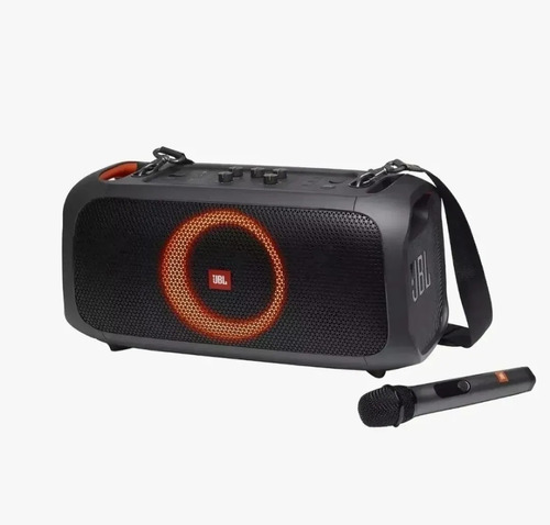 Jbl Partybox On The Go Com Microfone