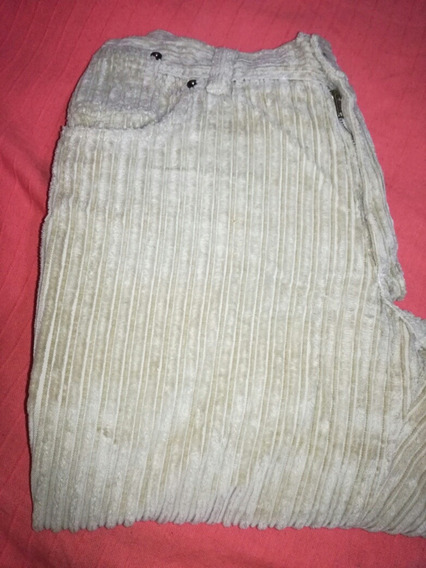 Pantalón De Hombre Beige De Corderoy Robins Talle 42
