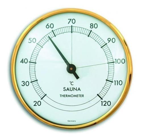 Termômetro De Sauna +20+120:1c Diametro 100mm