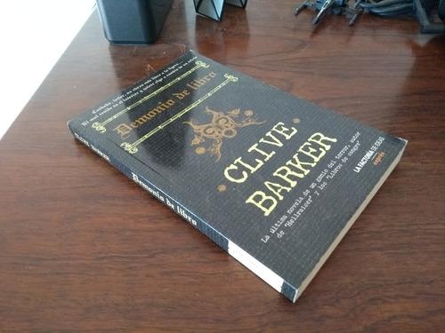 Demonio De Libro Clive Barker Ed Factoria De Ideas Mercado Libre