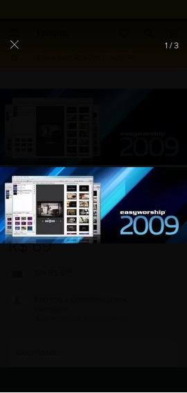Easyworship 2009 Versões 1.9 E 2.4 Completo Biblia