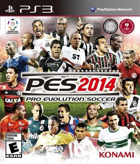 Pes 2014 Pro Evolution Soccer Original Mídia Física Ps3