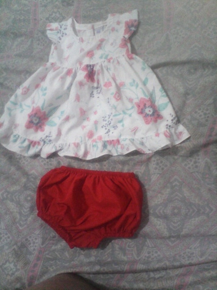 Vestido Y Bombachon Nuevo