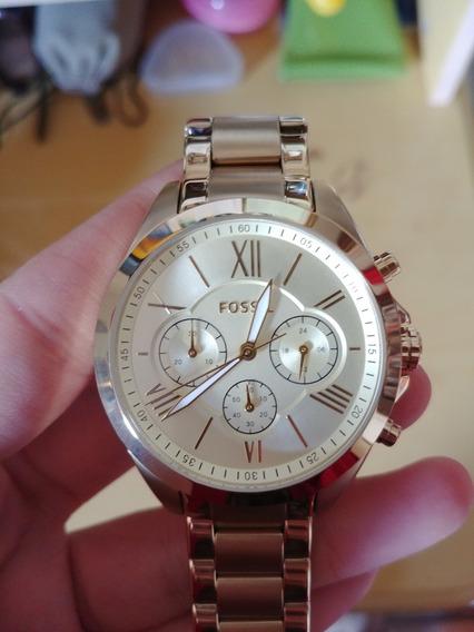 Relógio Fossil Dourado