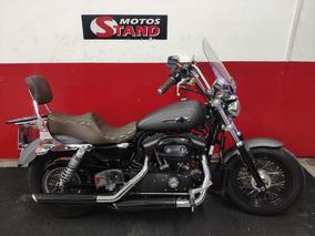 Harley Davidson Sportster Xl 1200 Custom Cb 2016 Cinza