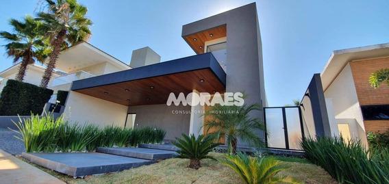 Casa Com 4 Suítes À Venda, 300 M² Por R$ 2.450.000 - Condomínio Spazio Verde - Bauru/sp - Ca1567