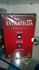 Livros Essencial Da Estratégia - 3 Livros