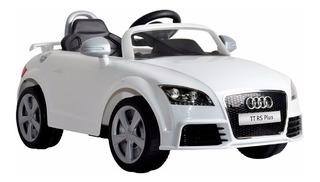 Auto Eléctrico Audi Tt Rs Blanco Control Remoto, Regalo Niño