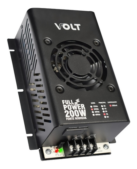 Fonte Nobreak 24v/7a Full Power 200w 24v 7a Volt