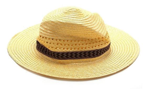 Sombrero De Paja Con Cinta Verano 2018 Moda