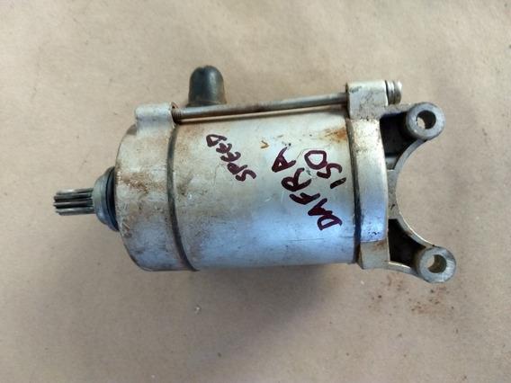 Motor Arranque Partida Dafra Speed 150 Kansas Original Usado