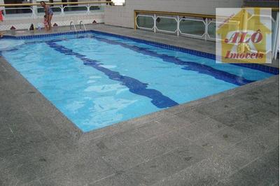 Cobertura Com 2 Dormitórios À Venda, 86 M² Por R$ 450.000 - Vila Mirim - Praia Grande/sp - Co0006
