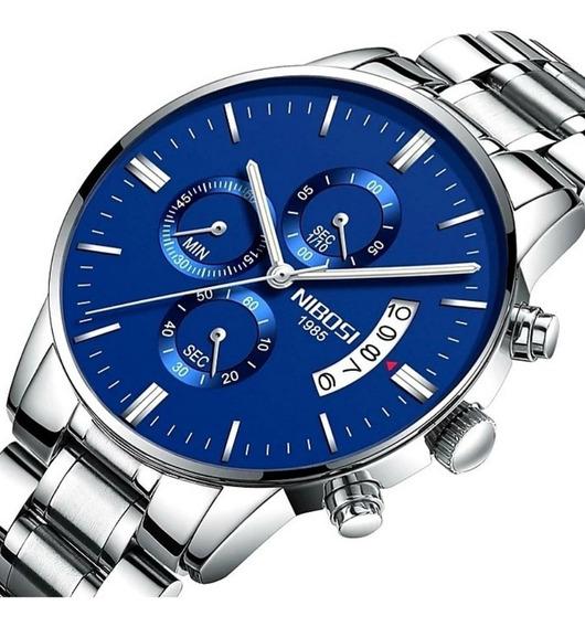 Relógio Masculino Nibosi Original Modelo 2309