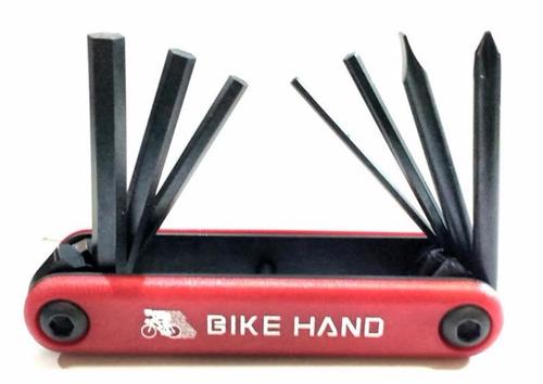 Herramienta Bicicleta - Llaves Allem Bike Hand  - 7 Func.