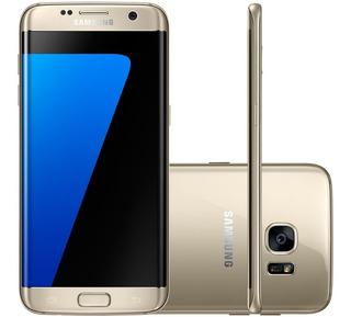 Samsung Galaxy S7 Edge Dourado 32g