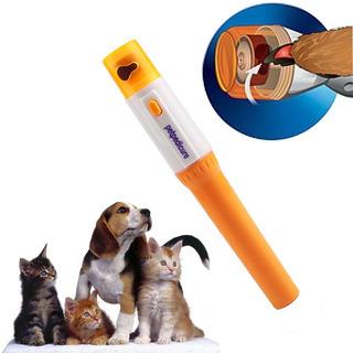 Lima Pulidora Eléctrica Uñas Perro Y Gato Mascota Pedicure