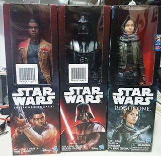 Pack 3 Muñecos Star Wars 12 Pulgadas ( 30 Cm)