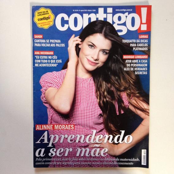 Revista Contigo Alinne Mores Sandy Juliana Alves G592