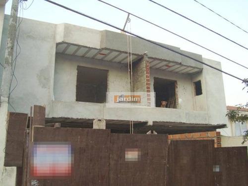 Sobrado Residencial À Venda, Campestre, Santo André. - So0480