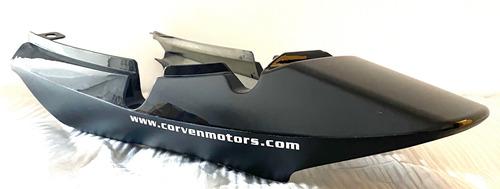 Imagen 1 de 6 de Carenado Trasero Negro Corven Hunter 150 Aleacion Di Cuotas