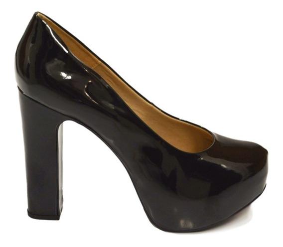 Moda Drag Queen Sapato Do 40 Ao 43 Salto Quadrado 65
