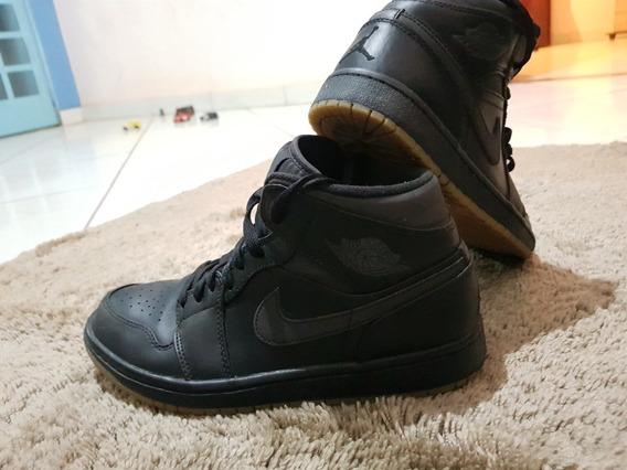 Tênis Nike Air Jordan 1 Bleck