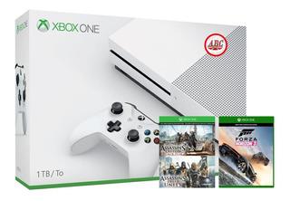 Xbox One S 1tb 4k + Extra ! Promocion !