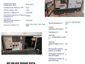 Renta /venta Generador Wacker Neuson G25 Planta De Luz 20 Kw