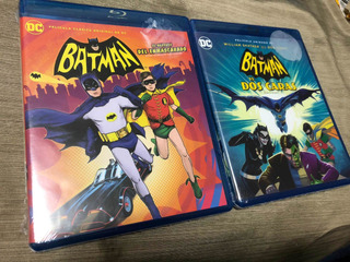 Batman El Regreso Del Enmascarado Y Vs Dos Caras Adam West