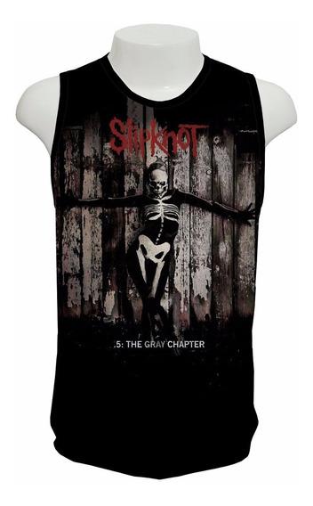 Camiseta Slipknot - The Gray Chapter - Regata