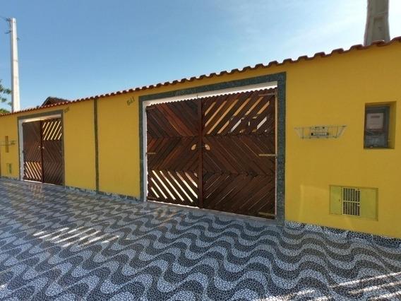 3655-casa Nova 3 Dormitórios 500 Metros Da Praia Itanhaém