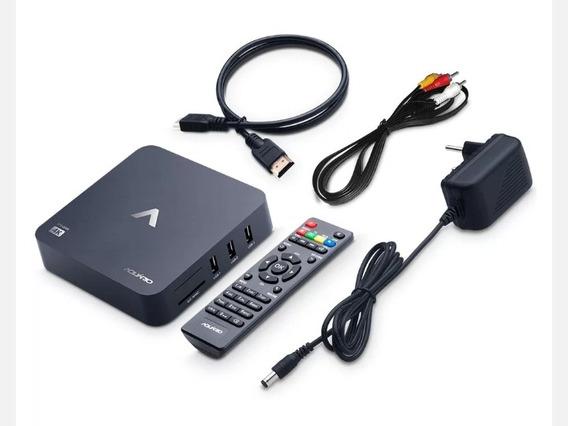 Smart Box Aquário C/ Netflix Youtube Stv2000 4k 8gb Memória