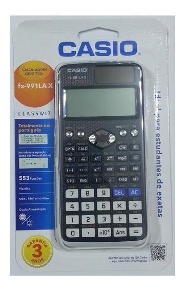 Calculadora Casio Científica Fx-991lax Com 553 Funções