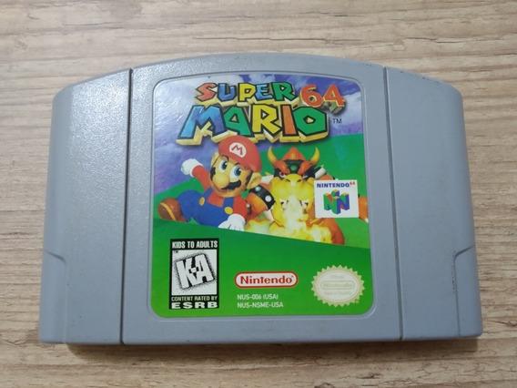 Super Mario 64 - Cartucho Original Americano Em Ótimo Estado