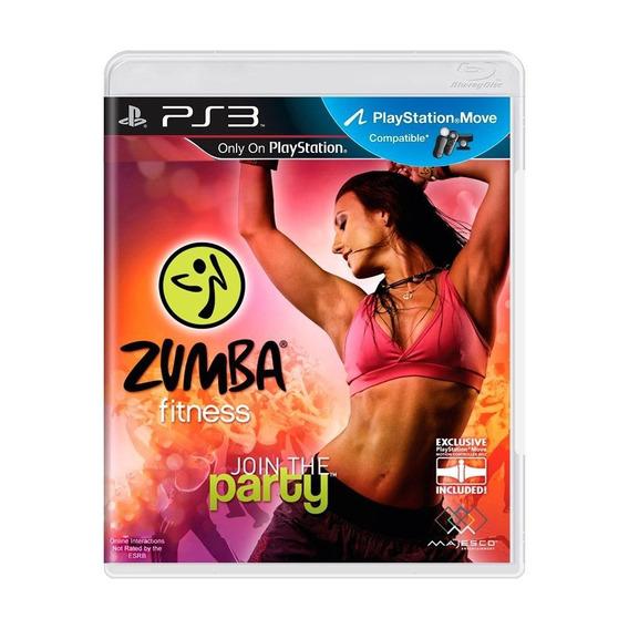 Zumba Fitness Join The Party Ps3 Mídia Física Pronta Entrega
